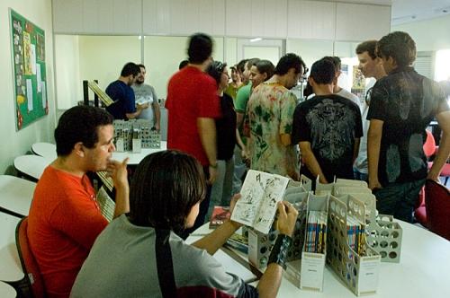 a maioria começou a ler a revista ainda na gibiteca
